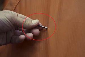 Chất liệu vải nano tự liền lại khi bị đâm thủng
