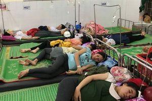 Hơn 150 công nhân bị ngộ độc thức ăn gây dị ứng phải được cấp cứu
