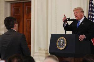 Phóng viên CNN được trở lại tác nghiệp tại Nhà Trắng