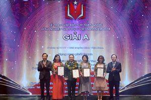 Phóng viên Báo Lao Động chia sẻ cảm xúc khi đạt giải A giải báo chí 'Vì sự nghiệp giáo dục Việt Nam'