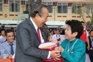 Phó Thủ tướng Trương Hòa Bình dự kỷ niệm 100 năm Trường Marie Curie