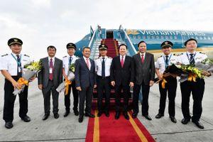 Vietnam Airlines nhận tàu bay thế hệ mới A321neo đầu tiên