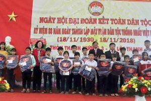 Đồng chí Trương Thị Mai dự Ngày hội Đại đoàn kết toàn dân tộc tại Lâm Đồng