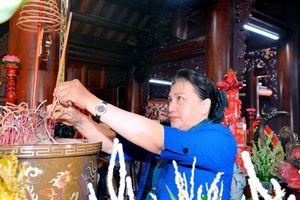 Chủ tịch Quốc hội Nguyễn Thị Kim Ngân làm việc với lãnh đạo chủ chốt tỉnh Thái Bình