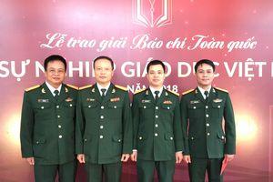 Báo Quân đội nhân dân đoạt giải đặc biệt xuất sắc và giải A Báo chí toàn quốc Vì sự nghiệp Giáo dục Việt Nam