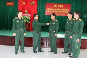 Quân khu 5 đối thoại dân chủ với cán bộ chiến sĩ