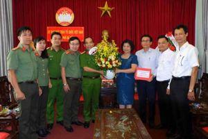Lãnh đạo CATP Đà Nẵng thăm nhân kỷ niệm 88 năm thành lập Mặt trận Tổ quốc Việt Nam