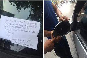 Những lời nhắn gửi trên kính ô tô cực bá đạo khiến CĐM phì cười