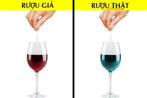 Cách nhận biết rượu vang giả chuẩn 100%