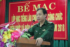 Bế giảng khóa học tiếng Lào cho cán bộ, công chức, viên chức xã biên giới Thanh Thủy