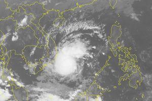 Vùng áp thấp ở Trường Sa đã mạnh lên thành áp thấp nhiệt đới