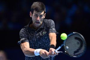 Djokovic bất bại ở vòng đấu bảng giải ATP Finals 2018