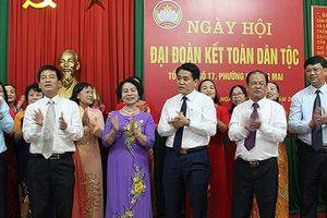 Lãnh đạo thành phố tham dự Ngày hội Đoàn kết toàn dân tộc