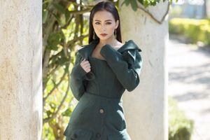 Mỹ Ngọc Bolero diện thời trang cá tính dạo phố Đà Lạt