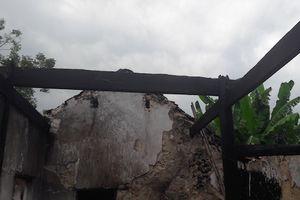Nghệ An: Cháy nhà cấp 4, thiệt hại khoảng 100 triệu đồng