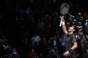 Djokovic toàn thắng vòng bảng ATP Finals