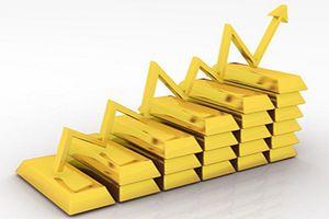 Giá vàng miếng tăng mạnh 170-190 đồng/lượng trong tuần qua