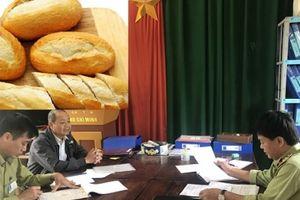 Bánh mỳ, bánh phở sản xuất bằng nước không đạt chuẩn kỹ thuật