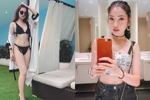 Cận cảnh vẻ nóng bỏng và style gợi cảm của tình mới Dương Khắc Linh