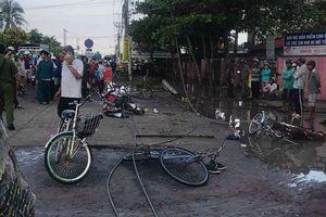Long An: Kết luận vụ đứt dây điện trước cổng trường khiến 6 học sinh thương vong