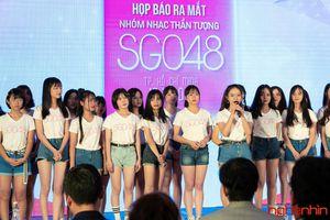 Ra mắt nhóm nhạc thần tượng Việt Nam SG048 thế hệ đầu tiên