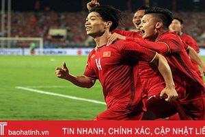 ĐT Việt Nam được thưởng nóng sau trận thắng 2-0 ĐT Malaysia