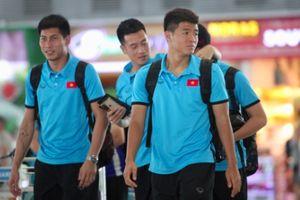 Tuyển Việt Nam lên đường sang Myanmar tìm vé vào bán kết AFF Cup 2018