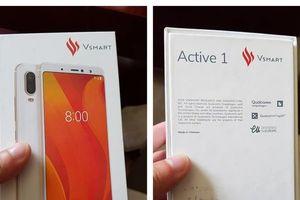 Lộ diện hình ảnh điện thoại Vsmart 'made in Việt Nam'