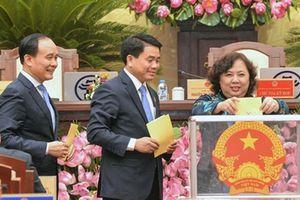 37 chức danh được lấy phiếu tín nhiệm tại Kỳ họp thứ 7 HĐND TP Hà Nội