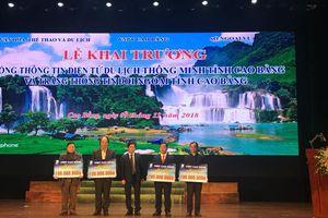 VNPT hỗ trợ 500 triệu đồng cho Sở GD & ĐT và các xã khó khăn tại Cao Bằng