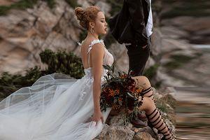 Những chiếc váy tuyệt vời cho cô dâu cá tính chất chơi nhất mùa cưới 2018