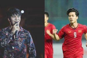 Công Phượng bị nhầm là anh em 'sinh đôi' với ca sĩ Thái Lan