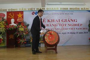Trường cao đẳng Quốc Tế Hà Nội tổ chức khai giảng và kỷ niệm ngày nhà giáo Việt Nam