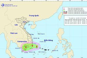 Áp thấp nhiệt đới mạnh lên thành bão số 8, tiến vào biển Đông