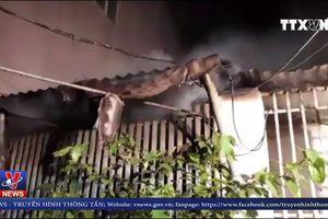 Kịp thời dập tắt đám cháy tại TP Vinh, Nghệ An