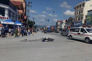 Hà Tĩnh: Bắt giữ một xe đầu kéo bỏ chạy sau khi chèn chết người