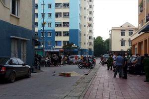 Thanh Hóa: Người dân hốt hoảng phát hiện thi thể người đàn ông rơi từ chung cư xuống