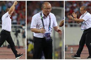 '50 sắc thái' của HLV Park Hang-seo trong trận gặp Malaysia: Khi đáng yêu - lúc phát hỏa