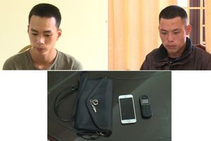 Thái Bình: Khởi tố bị can 2 đối tượng cướp giật tài sản