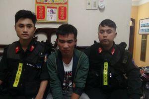 TT- Huế: Thanh niên tàng trữ ma túy hốt hoảng bỏ chạy khi gặp cảnh sát cơ động