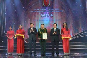 Trao giải báo chí 'Vì sự nghiệp giáo dục Việt Nam '