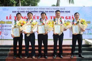 PC Thừa Thiên Huế đạt giải Nhất cuộc thi Sáng tạo Khoa học Công nghệ năm 2018