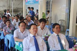 Lãnh đạo Trung ương và tỉnh dự ngày hội Đại đoàn kết toàn dân tộc