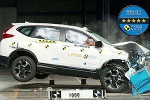 Honda CR-V nhận hai giải thưởng của ASEAN NCAP về an toàn
