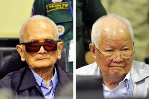 Hai cựu lãnh đạo chế độ diệt chủng Khmer Đỏ nhận bản án chung thân