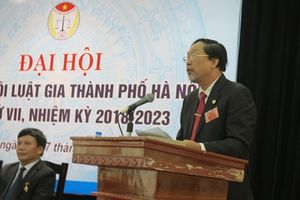 Luật gia Nguyễn Hồng Tuyến tiếp tục được bầu giữ chức Chủ tịch Hội Luật gia TP Hà Nội