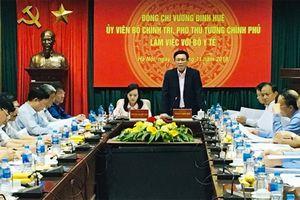 Phó Thủ tướng Vương Đình Huệ: Tránh cắt thủ tục này lại 'cài cắm' thủ tục khác
