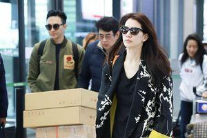 Hoa hậu Viên Vịnh Nghi lên tiếng về vụ lớn tiếng quát chồng ở sân bay