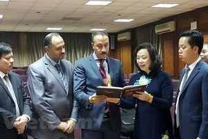 Đoàn đại biểu TP Hà Nội thăm và làm việc tại Ai Cập