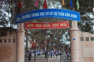 Huyện Ứng Hòa lập tổ xác minh việc giáo viên xúc phạm học sinh